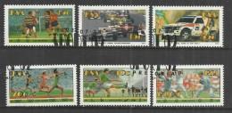 SOUTH AFRICA 1992 - SPORTS - CPL. SET - USED OBLITERE GESTEMPELT USADO - Afrique Du Sud (1961-...)