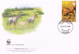 WWF - 392,23 - 1,18 € - D' FDC - 24-11-2006 -  - Topi - Tanzania 1391211 - FDC