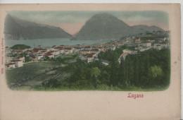 Lugano Et Le Monte San Salvatore - Stengel & Co. 7003 - TI Tessin