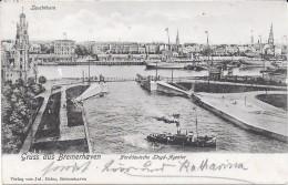 Bremerhaven : Le Port Et Vue Sur La Ville. (Voir Commentaires) - Bremerhaven