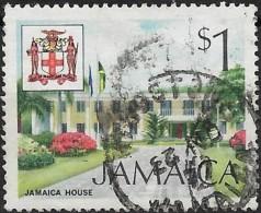 JAMAICA 1972 Jamaica House - $1 Multicoloured  FU - Jamaica (1962-...)