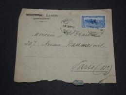 EGYPTE - Enveloppe D 'Alexandrie Pour La France En 1926 - A Voir - L 1765 - Egypt