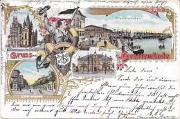 Geestemünde, Gruss Aus Geestemünde. (Voir Commentaires) - Bremerhaven