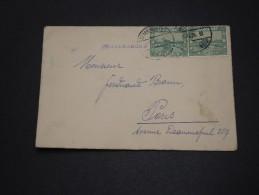 SARRE - Enveloppe  Pour La France En 1927 - A Voir - L 1768 - 1920-35 Société Des Nations