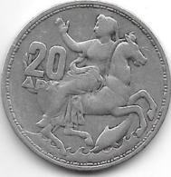 *greece 20 Drachme  1960  Km 85 - Grecia