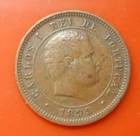 Portugal 5 Reis 1899 D. Carlos I