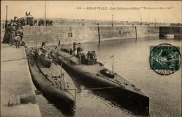 50 - GRANVILLE - Sous-marins - Marine Militaire - Granville