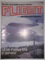 Revue Aéronautique Flight International N° 3487 Du 10/01/1976 - VFW-Fokker 614 ... - Transportation