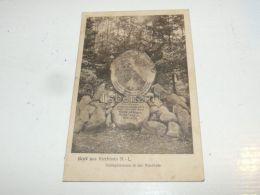 Gruß Aus Kirchhain - Schlageterstein In Der Waldhufe Germany - Kirchhain