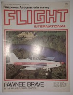 Revue Aéronautique Flight International N° 3486 Du 03/01/1976 - Pawnee Brave In The Air And Cutaway Drawing - Transports