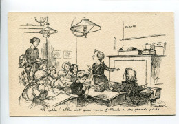 POULBOT  Enfants école Guerre 14-18 - Poulbot, F.