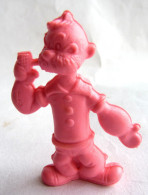 RARE FIGURINE PUBLICITAIRE PRIME US 1980 - MONOCHROME POPEYE - Poopdeck Pappy Poupa Rose - Figurines