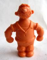 RARE FIGURINE PUBLICITAIRE PRIME US 1980 - MONOCHROME POPEYE - BLUTO BRUTUS Orange - Autres