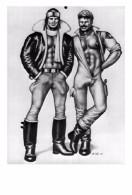 TOM OF FINLAND GAY INTEREST POSTCARD 48 -  SIZE: 15X10 CM. APROX. MINT - Cómics