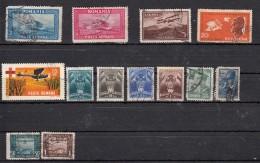 Roumanie Poste Aèrienne  13 Valeurs - Oblitérés