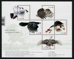 Canada (2016) - Block -  /  Fauna - Birds - Oiseaux - Vogel - Owl - Pájaros