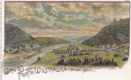 Gruss Aus Porta Westfalica. (Voir Commentaires) - Porta Westfalica