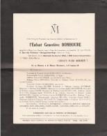 SEINE ET OISE SAVIGNY SUR ORGE AVIS DE DECES ENFANT  24/1/1945 - Décès
