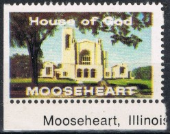 Viñeta  House Of God, MOOSEHEART, Illinois, Label, Cinderella ** - Variedades, Errores & Curiosidades