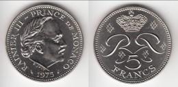 **** MONACO - 5 FRANCS 1975 RAINIER III **** EN ACHAT IMMEDIAT !!! - 1960-2001 Nouveaux Francs