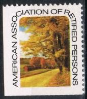Viñeta  American Assotiation  RETIRED Persons, Aiciacion Jubilados, Label,, Cinderella * - Variedades, Errores & Curiosidades