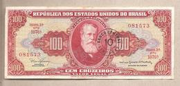 Brasile - Banconota Circolata Da 10 Centavos P-185b - 1967 #19 - Brasilien