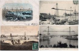 MARSEILLE - 4 CPA - Port - Transbordeur - Quai Des Messageries Maritimes - Voiliers  (89549) - Marsiglia