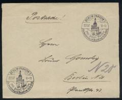 A4159) DR Postsache-Brief Von Berlin 22.8.37 Mit Sonderstempel 700 Jahre Berlin Heimatschau Pankow - Briefe U. Dokumente