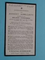 DP August ABELLEYT ( Melanie Dehaemers ) Ghistel 8 Juli 1867 - 4 Mei 1920 ( Zie Foto's ) ! - Avvisi Di Necrologio