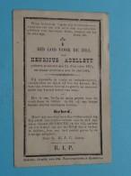 DP Henricus ABELLEYT () Ghistel 24 Nov 1837 - 24 Mei 1894 ( Zie Foto's ) ! - Avvisi Di Necrologio