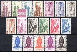 TGC/ Togo  N° Entre 182 & 207 Neuf  XX  MNH , Cote :  26,50 € , Album 12 - Togo (1914-1960)
