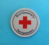 KFOR (Kosovo Forces) NATO Peacekeeping Mission Offic. Patch GERMANY ARMY Deutschland Armee Flicken Rotes Kreuz RED CROSS - Patches
