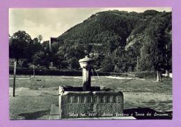 Ulzio - Antica Fontana E Torre Dei Saraceni - Italie