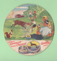 Etichetta Formaggio Camoscio Chamois Gamsy Cheese Anni 50 - Formaggio