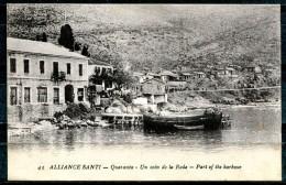 # - ALLIANCE SANTI QUARANTA (actuellement SARANDA) - Un Coin De La Rade - Part Of The Harbour - Albanie