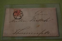 L488) ÖSTERREICH Brief - Briefe U. Dokumente