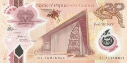 PAPUA NEW GUINEA 20 KINA 2015 P-NL UNC COMMEMORATIVE [ PG153a ] - Papua New Guinea