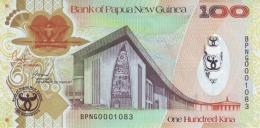 PAPUA NEW GUINEA 100 KINA 2008 (2009) P-37 UNC COMMEMORATIVE  [ PG142a ] - Papua New Guinea