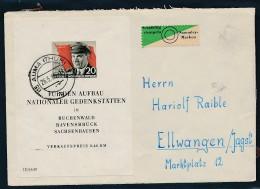 DDR  Sammler Brief Block 14 Aber Portogerecht   (g2099 )  Siehe Bild - [6] Oost-Duitsland