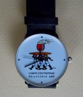 Montre Publicitaire Brasserie LIPP Comité D´entreprise LIPP Ce - Advertisement Watches