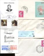 LOTE DE 55 SOBRES Y TARJETAS ANTARTIDA ARGENTINA DIFFERENT DIFFERENTES ANTARTICS ANTARTIDE  ZTU - Postzegels