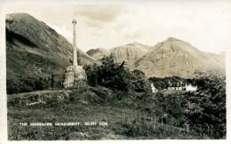 ARGYLL - THE MASSACRE MONUMENT, GLENCOE RP Arg147 - Argyllshire