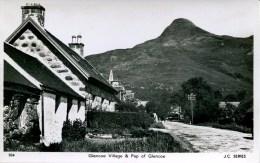 ARGYLL -  GLENCOE VILLAGE AND PAP OF GLENCOE RP Arg149 - Argyllshire