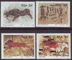 D90819 South Africa 1987 BUSHMAN ROCK ART MNH Set - Afrique Du Sud Afrika Sudafrika SWA - Afrique Du Sud (1961-...)