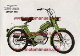 Moto Guzzi Dingo 50 MM 1975 Depliant Originale Genuine Brochure Prospekt - Motoren