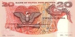 PAPUA NEW GUINEA 20 KINA ND (1981) P-10a UNC SIGN. 3 [ PG111a ] - Papua New Guinea
