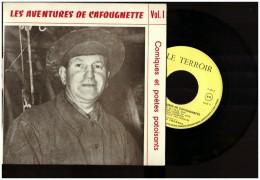 Cafougnette  Vinyle 45 T  LT 8   Patois Picard Patoisant Lille   Mine Mineur Comiques Et Patoisants Vol 1 - Humor, Cabaret