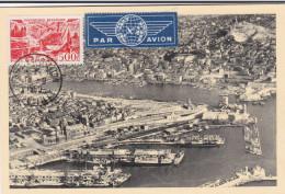 Carte-Maximum FRANCE N°Yvert PA27 (MARSEILLE) Obl Sp Foire Exp 1950 - 1950-59