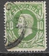 1869 10c Leopold, Used - 1869-1883 Leopold II