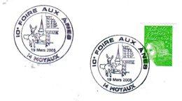 14  MOYAUX  10° Foire Aux ânes  19/03/05